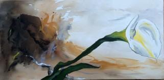 "Acrylic on canvas, gallery wrap, 30""x15"", $450"
